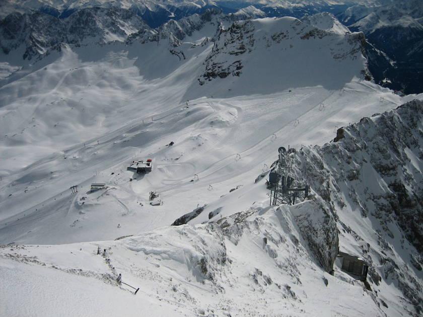 Skigebiet Wintersport Bayern