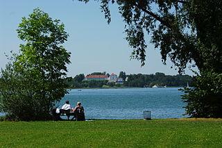 Größte Seen Bayern - Chiemsee