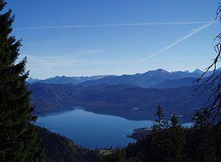 Größte Seen Bayerns - Der Walchensee