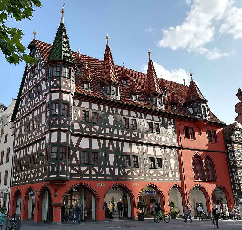 Fulda Altes Rathaus Sehenswürdigkeit