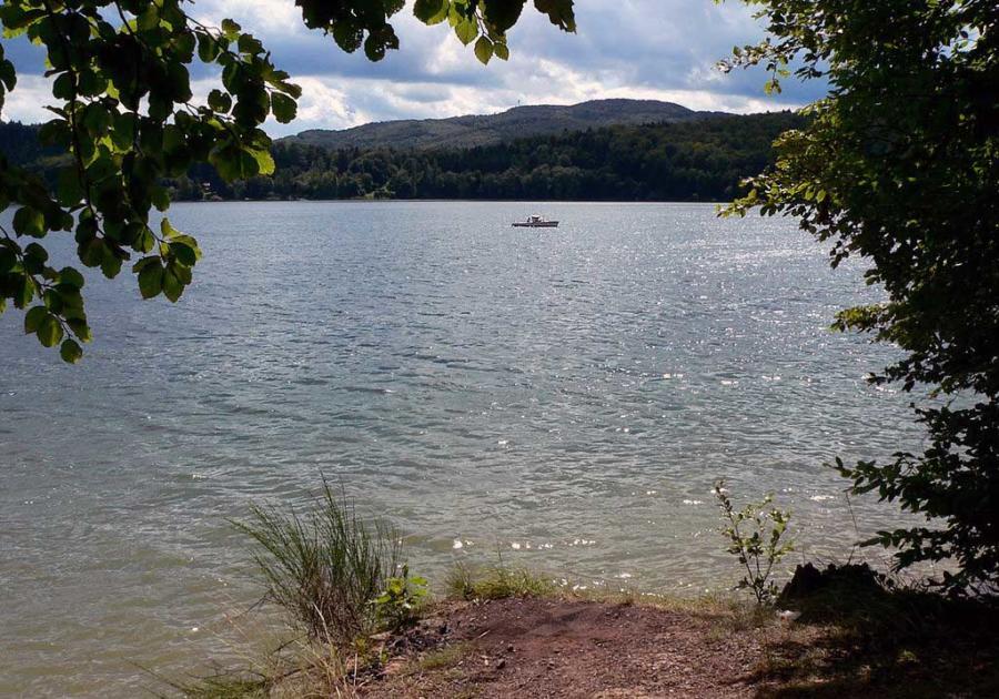 Edersee - Größte Seen Deutschland