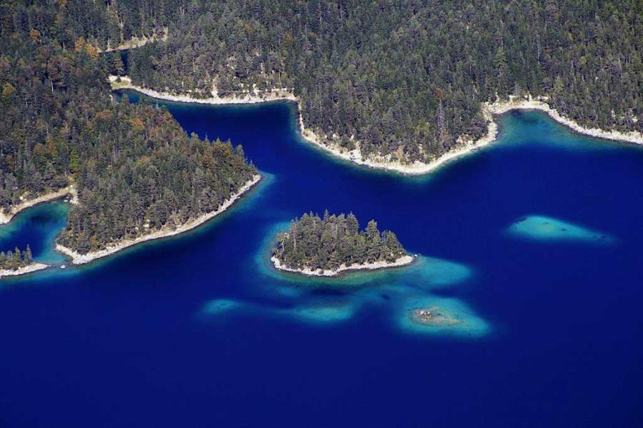 Eibsee - Größte Seen Deutschland