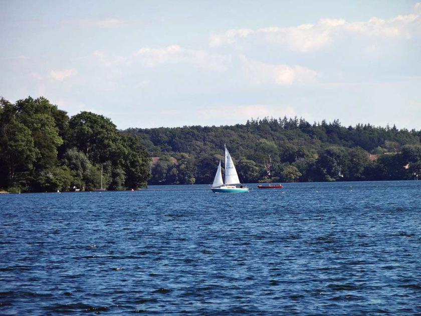 Großer Plöner See - Größte Seen Deutschland