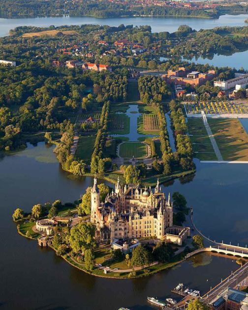 Schweriner See - Größte Seen Deutschland