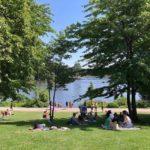 Stadtpark Hamburg Wellness & Picknick